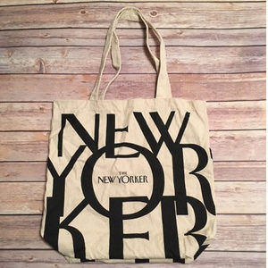 New Yorker Magazine Canvas Tote